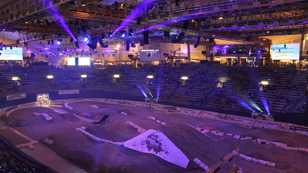 ADAC Supercross in der Olympiahalle