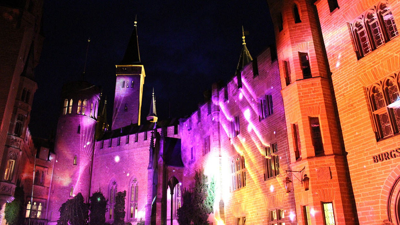 Pani Projektion Burg Hohenzollern (4)