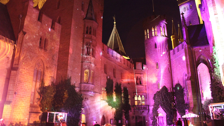 Pani Projektion Burg Hohenzollern (5)