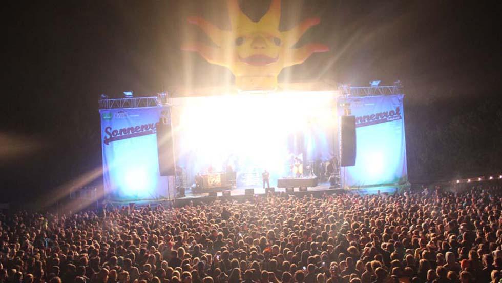 Sonnenrot Festival In Eching Bei München