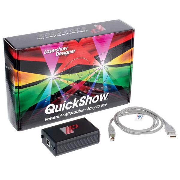 Pangolin Quickshow Lasersoftware