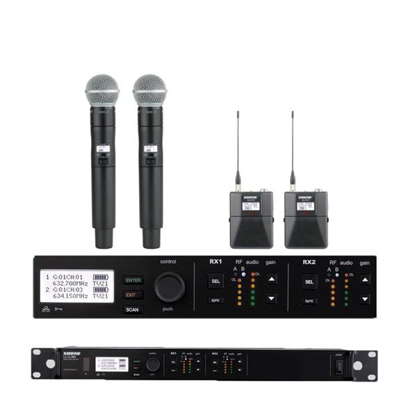 Shure ULX D4D Funkmikrofon Doppelempfänger