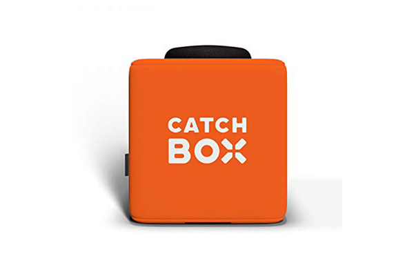 Catchbox Würfelmikrofon